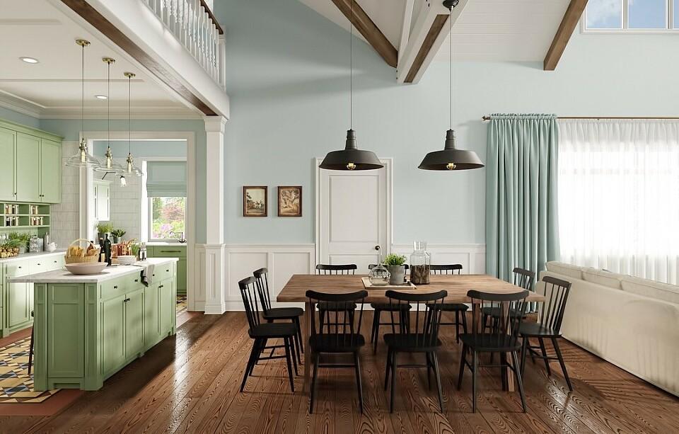 Дизайн кухни гостиной: составляем проект, варианты оформления интерьеров с фото