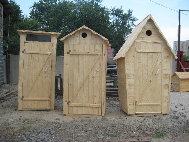 Строим дачный туалет с выгребной ямой