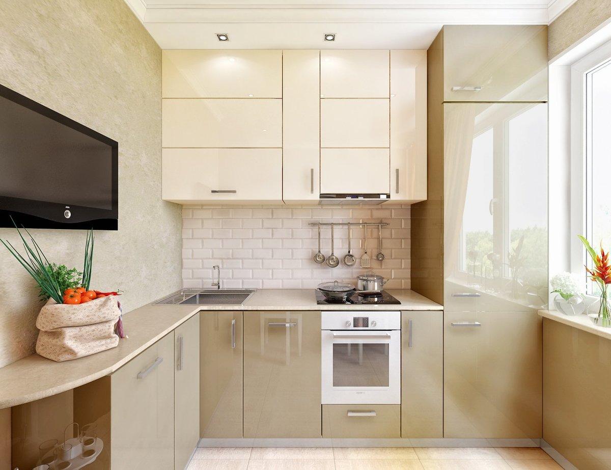 кухня 4 метра в длину