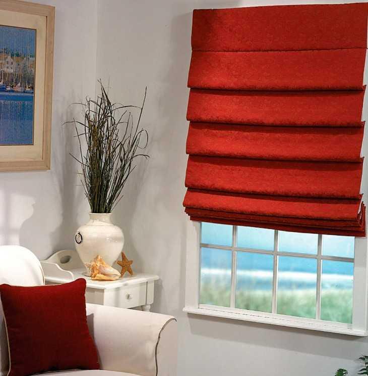 Римские шторы для вашего дома своими руками