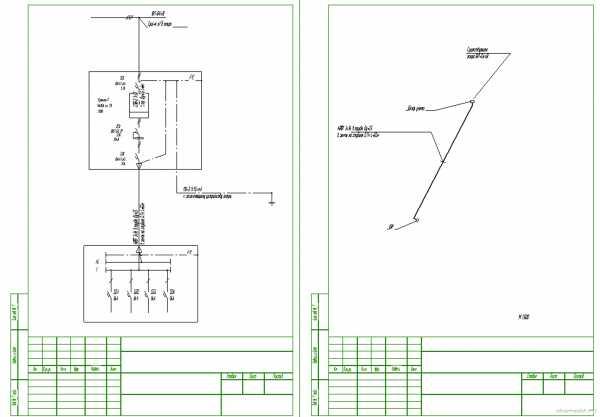 Однолинейная схема электроснабжения – назначение и виды