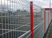 3д забор | 3d забор | установка забора из сетки 3д