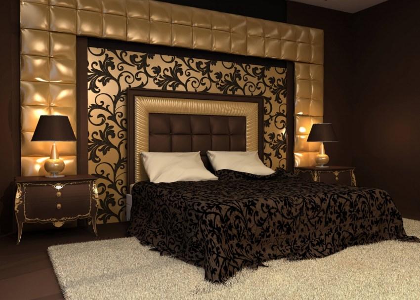 чем украсить стену в спальне