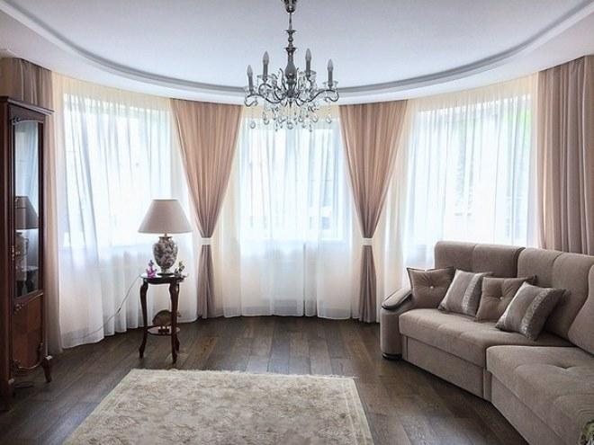 шторы в гостиную фото 2017