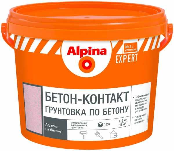 Сколько сохнет бетоноконтакт?