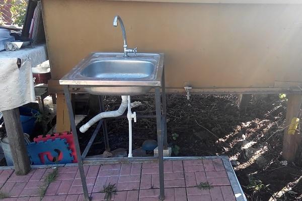 летний водопровод на даче