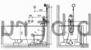 Штанга для душа в ванную: правила выбора и технология монтажа, стойка,палка, мыльница на штангу.