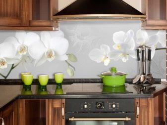 Фартук для кухни: из плитки, стекла (скинали), мдф, пластика, фото, видео