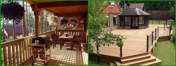 Ограждение террасы: высота кованых перил, комбинированные конструкции из дерева и дпк, стеклянные и деревянные террасные ограждения
