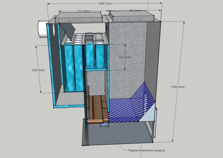 Самодельный котел для водяного отопления - водяные котлы для отопления своими руками