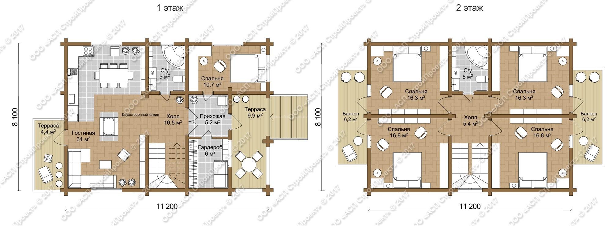 Проект дома «z153»