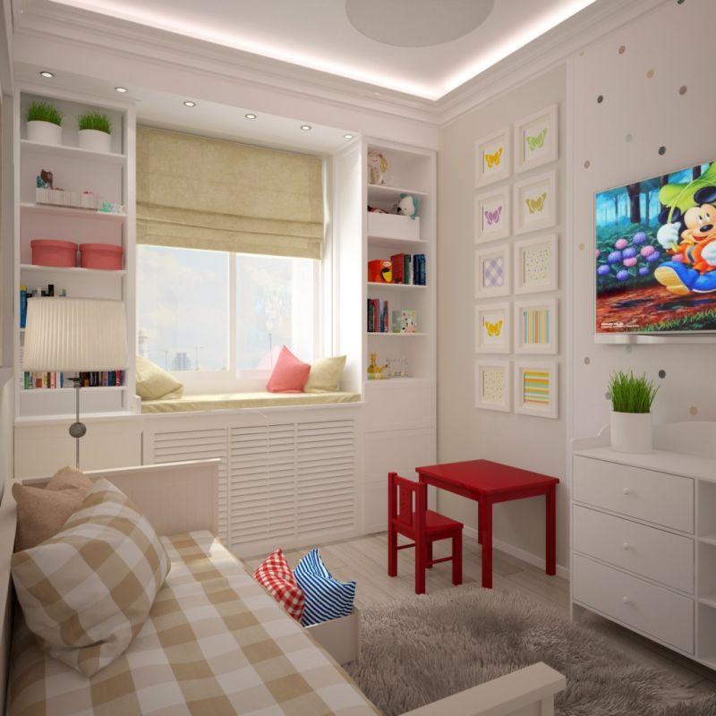 Секреты планировки маленькой детской комнаты - дизайн интерьера - медиаплатформа миртесен