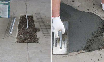 Чем покрыть бетонную площадку на улице?