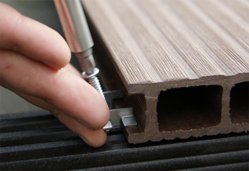 Тонкости монтажа террасной доски из лиственницы