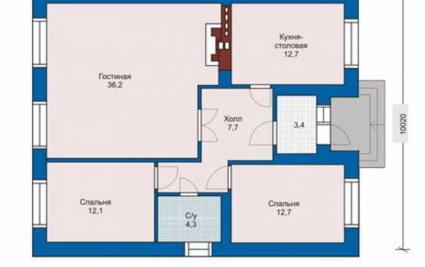 Планировка двухэтажного дома - 105 фото, схемы, чертежи и проекты домов в два этажа