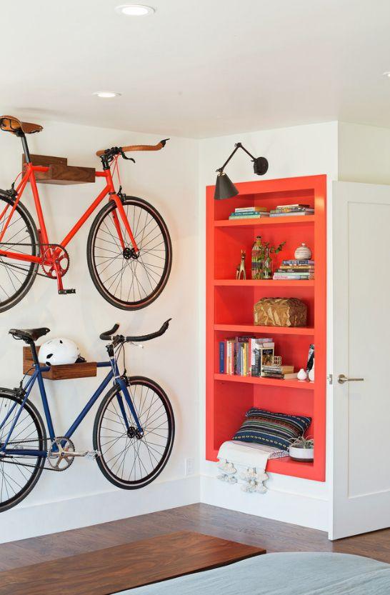 Крепеж для велосипеда на стену своими руками
