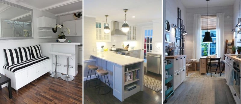 маленькие кухонные гарнитуры