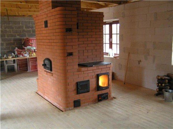 Отопительная печь голландка для вашего дома
