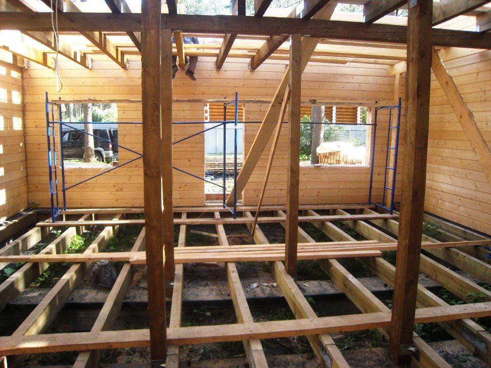 Способы усиления деревянных балок перекрытия