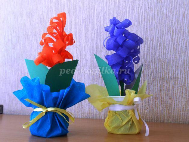 Цветы из гофрированной бумаги своими руками: 80 фото идей, видео мастер-классы