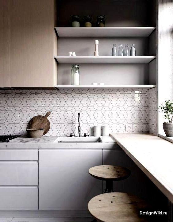 Кухня в скандинавском стиле – теплота и уют северного интерьера