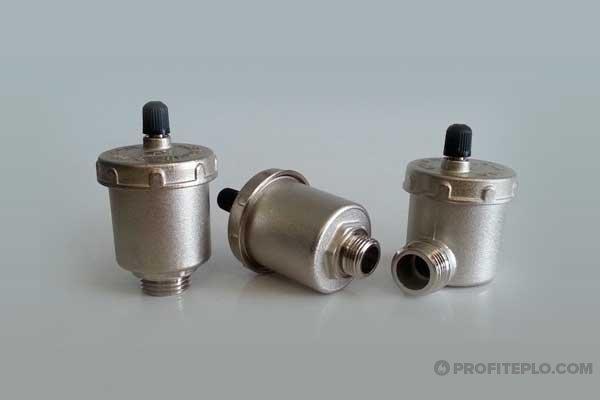Автоматический воздухоотводчик для радиатора отопления: принцип работы, установка