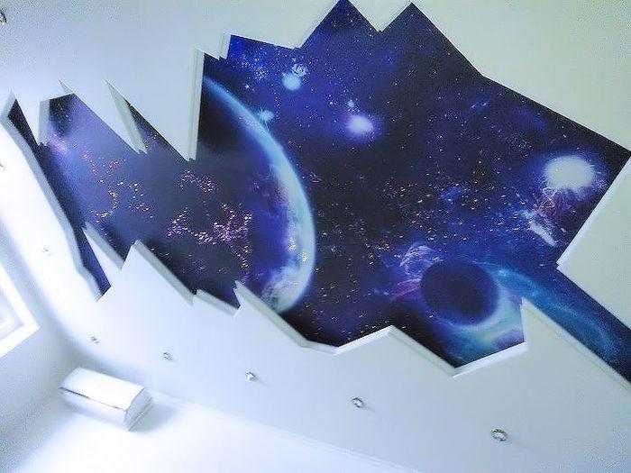 Звездное небо дома: красота и спокойствие