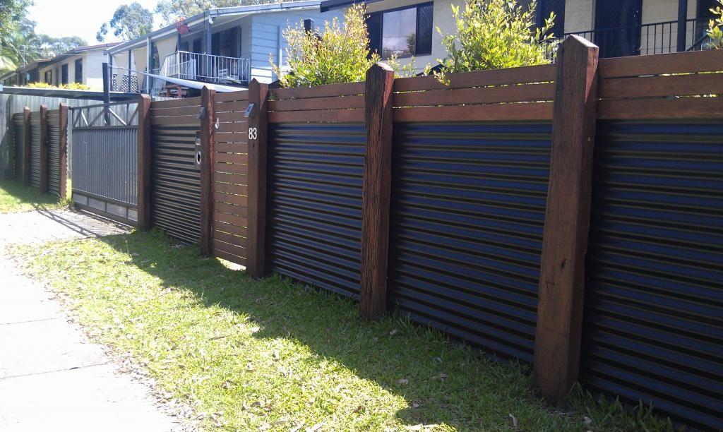 Забор из профлиста своими руками пошаговая инструкция