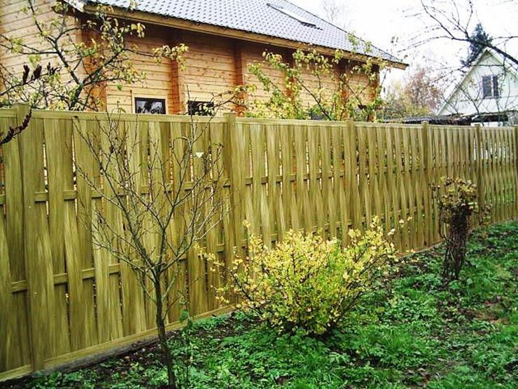 дешевый и красивый забор