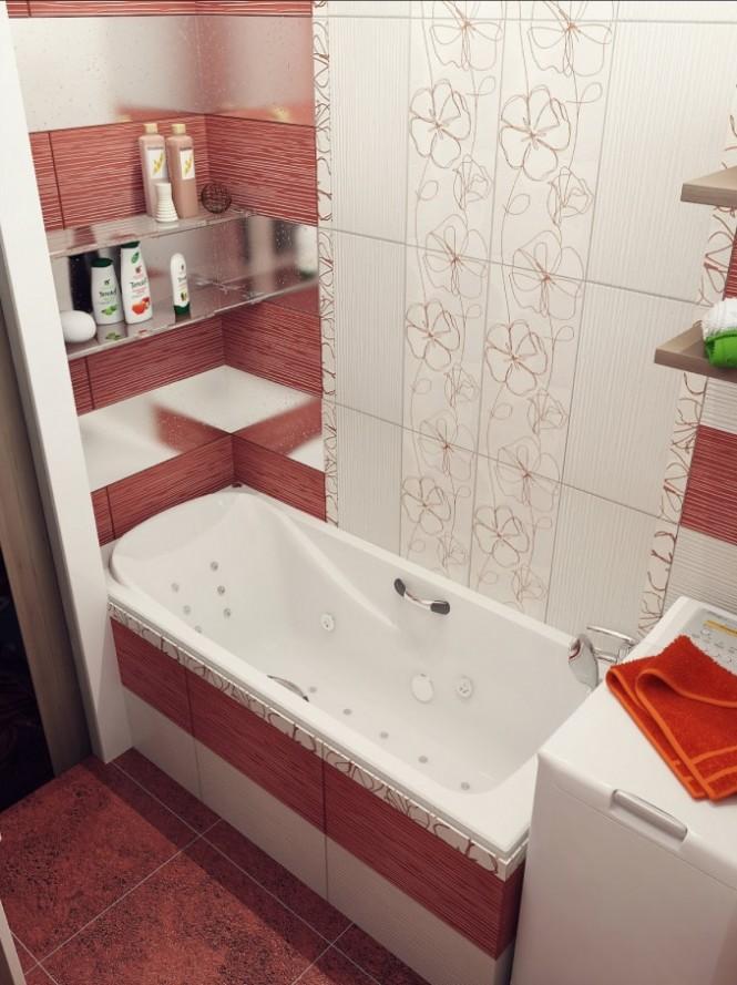 Выбираем плитку для небольшой ванной, как правильно сделать
