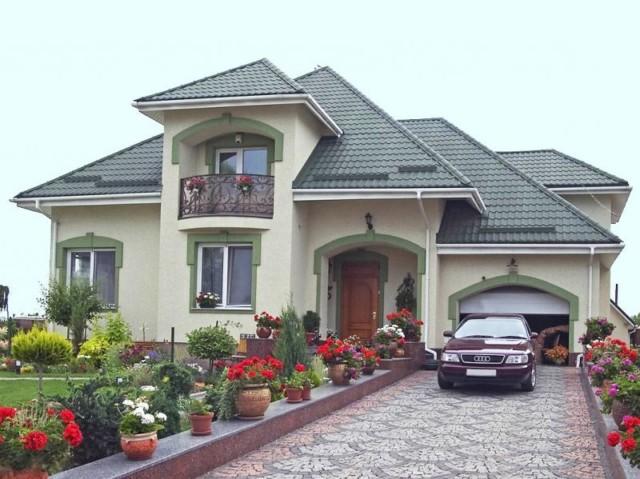 Какой цвет лучше для фасада дома. подбираем цвет крыши дома по фен-шуй. несколько правил при выполнении акцентов