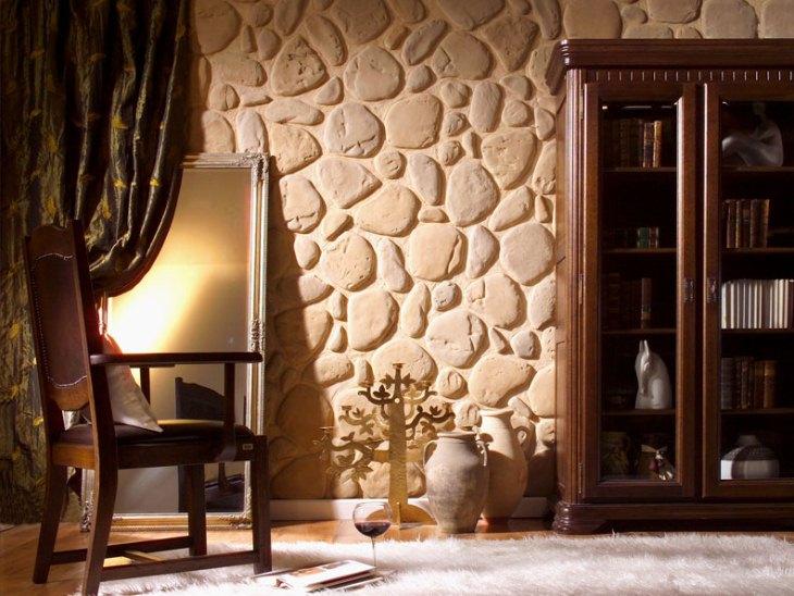 Декоративный камень в интерьере кухни: фото дизайна - sovetipodomy