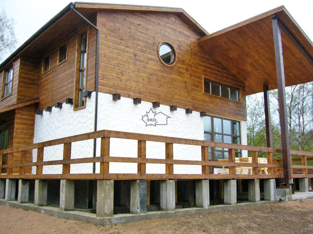 Дом из бетонных панелей: особенности строительства