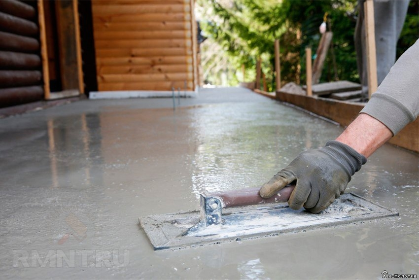 бетонная отмостка расценка в смете