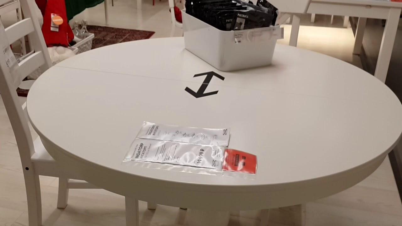раздвижной стол икеа