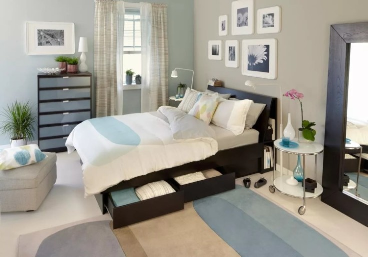 Кованые кровати от икеа: особенности использования и дизайн модели