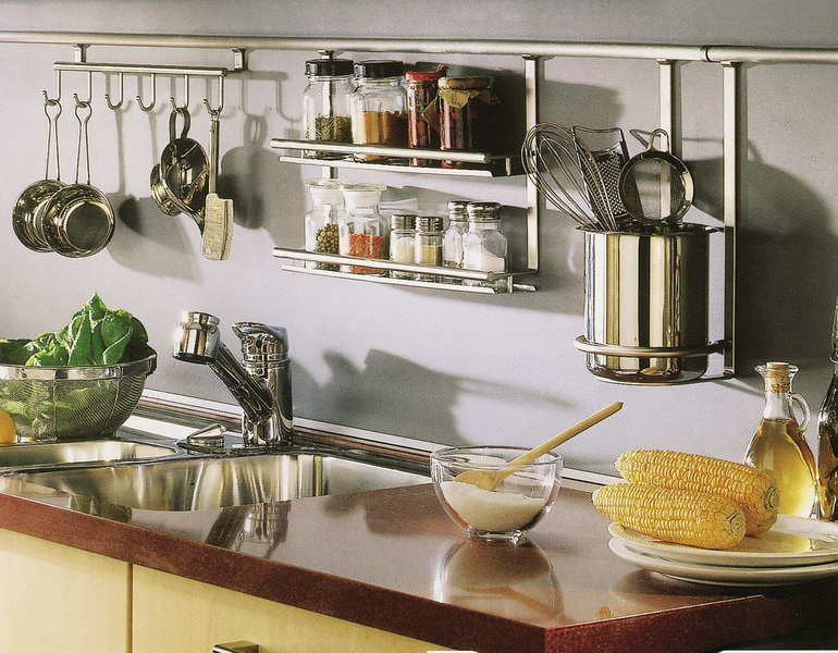 штанга для кухни на фартук