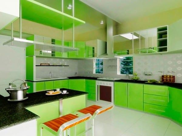 Зелено-синий цвет и сочетание с ним