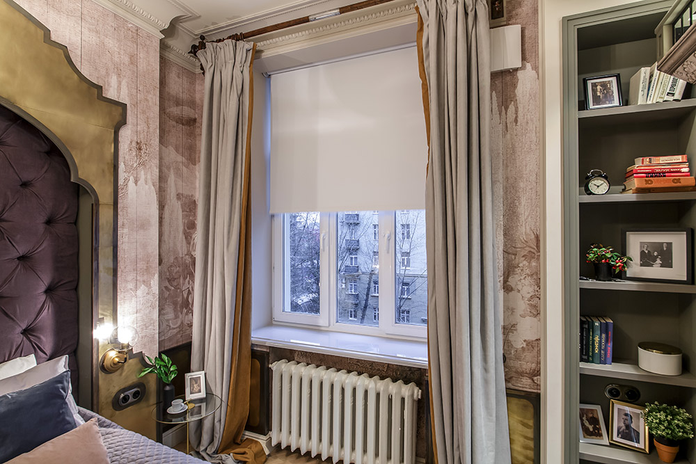 Сиреневые обои: стильный интерьер в вашем доме