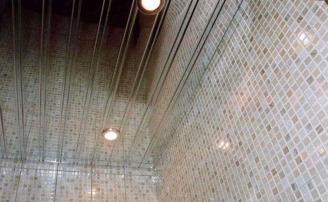 Реечный потолок, цена за 1 м2