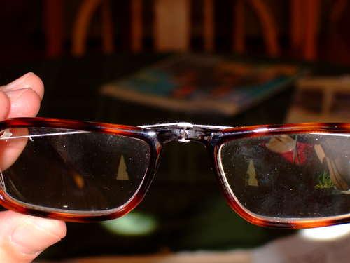 Как починить очки - wikihow