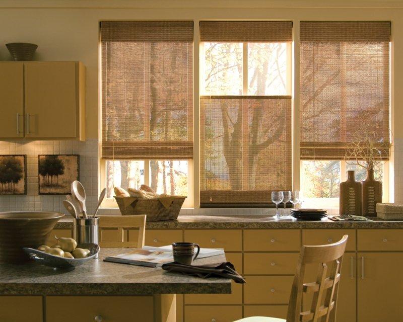 Какие бамбуковые шторы на дверной проем можно выбрать: виды, особенности, фото