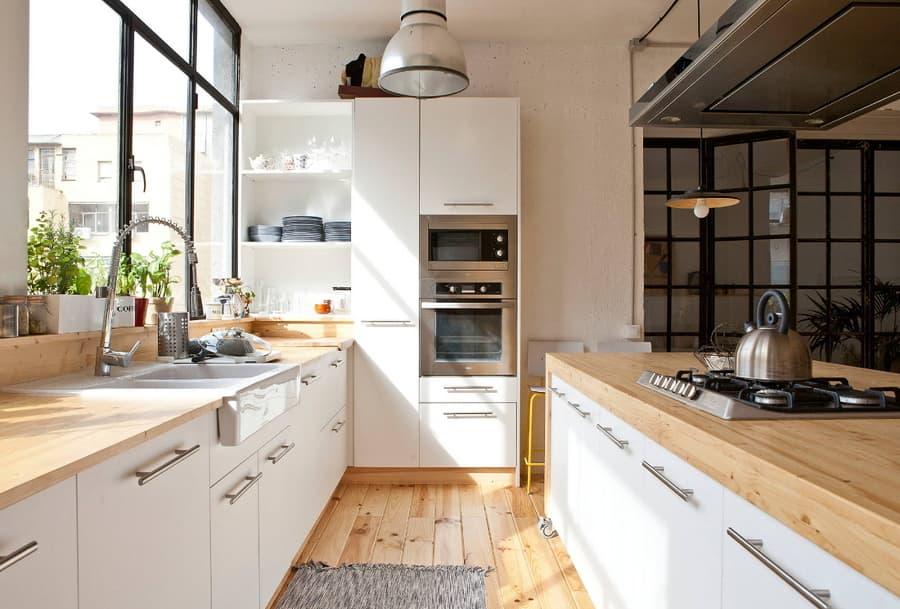 Кухня гостиная в скандинавском стиле: фото модных дизайнов