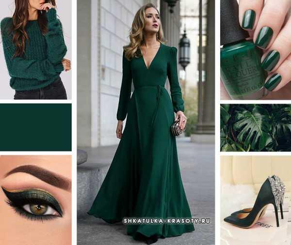 Зеленый цвет в одежде - сочетание 2020, фото | шкатулка красоты