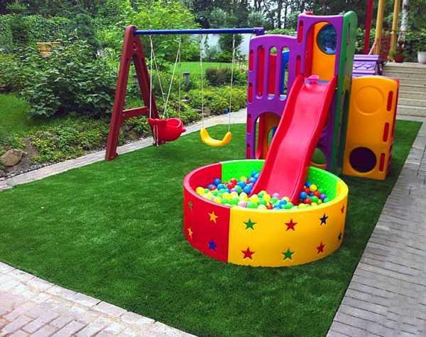 Детские площадки для дачи — 140 фото и проекты организации детских площадок своими руками