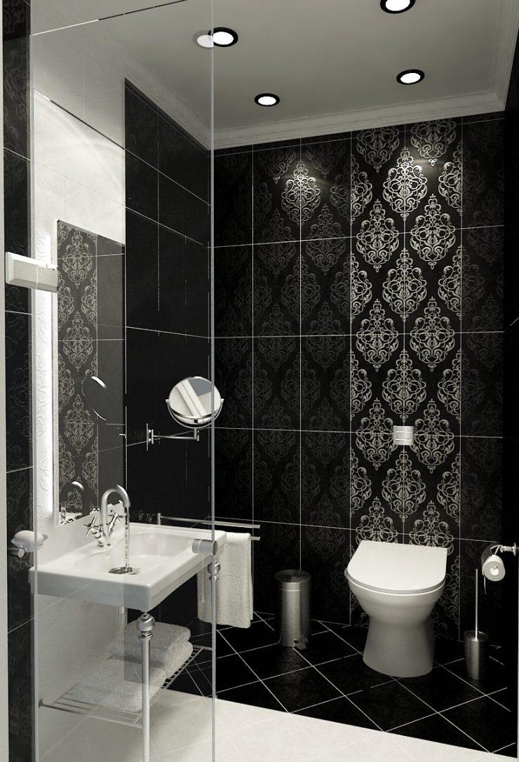 Мнимая простота и подлинное изящество черно-белого интерьера