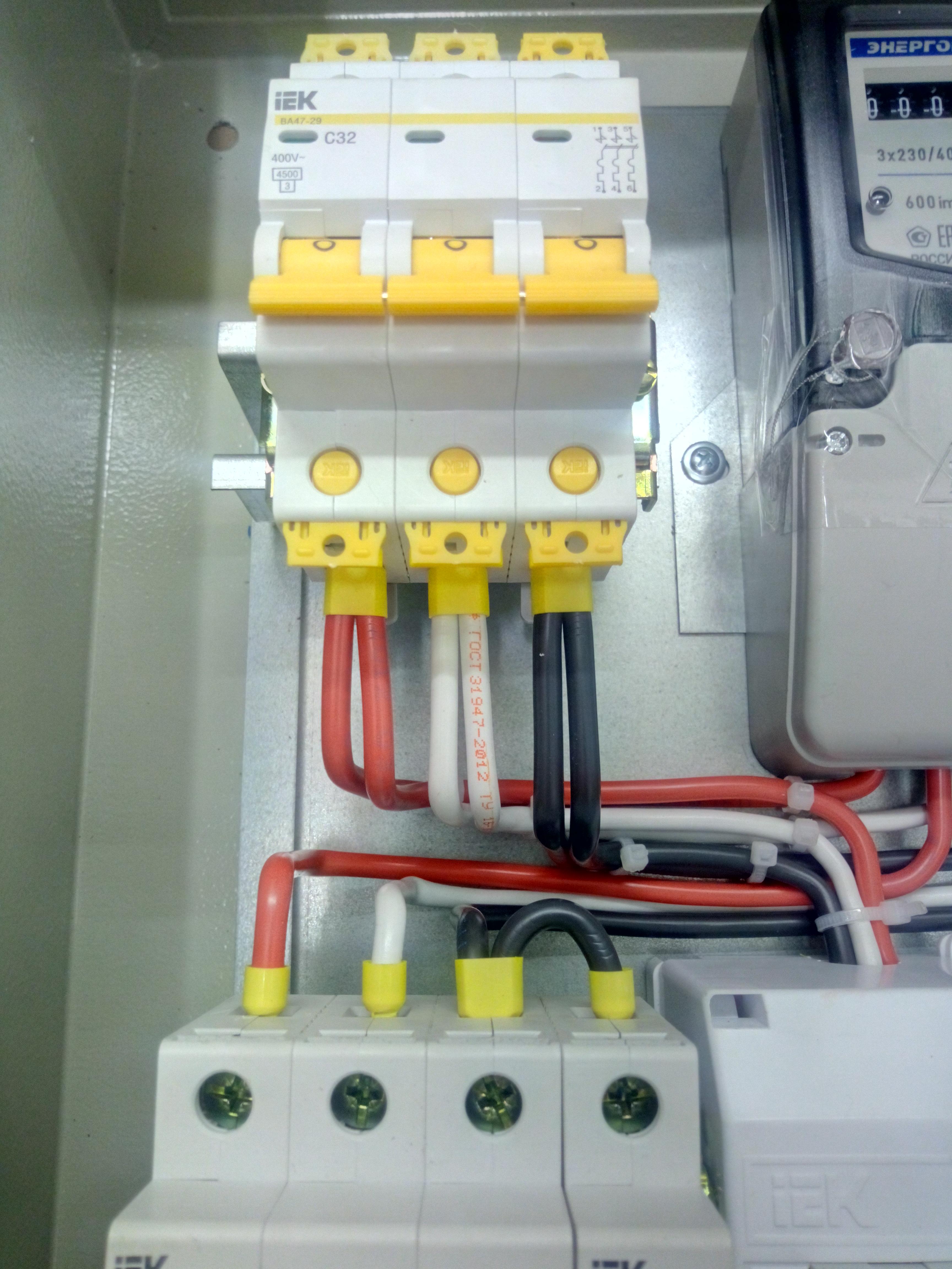Схема подключения ограничителя импульсных перенапряжений - всё о электрике