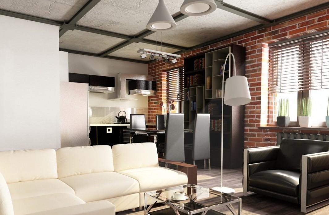 Стиль лофт в интерьере: концепция и история, компоненты, реализация в квартире