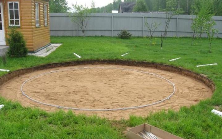 Пошаговая инструкция по изготовлению площадки из дерева под каркасный бассейн, а также цена под ключ
