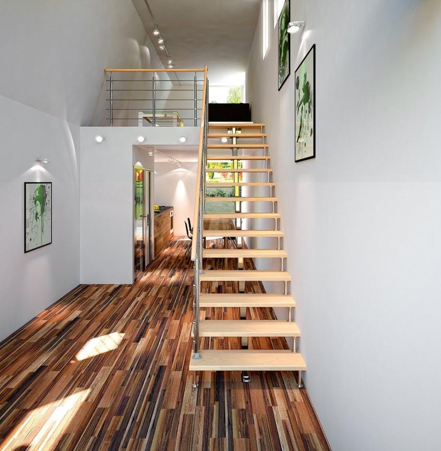 Лестница на второй этаж: 70 фото и идей